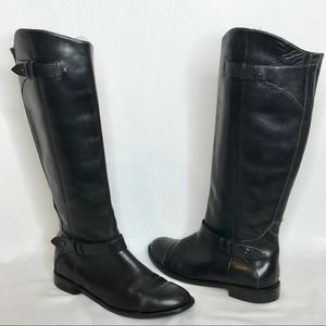 Halogen Kate Tall Knee High Leather Riding Boots